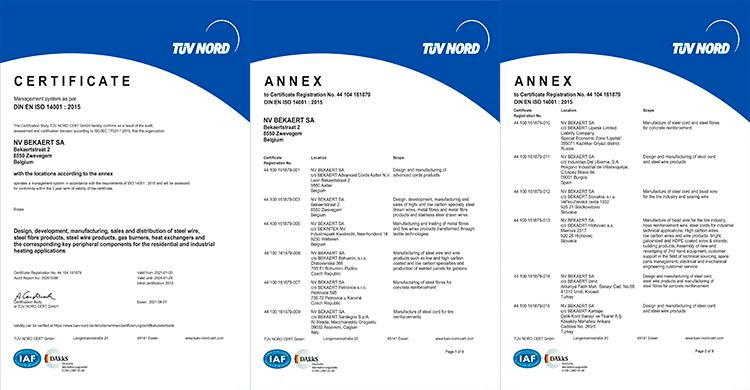 Certificação ISO14001