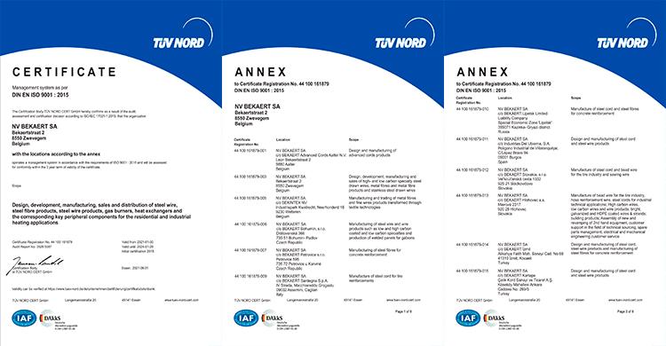 Certificação ISO9001